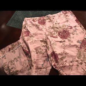 Ralph Lauren fine pajama bottoms size large
